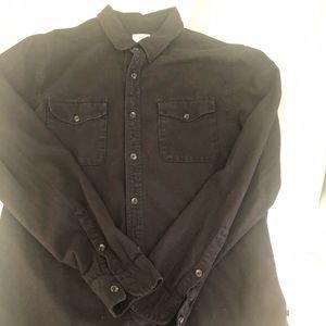 Black AG long sleeve shirt